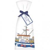 Crab Boat Towel Set