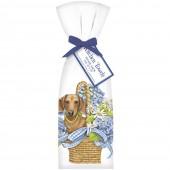 Doxie Basket Towel Set
