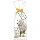 Sheep Spring Towel Set