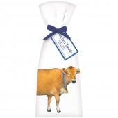 Brown Cow Towel Set