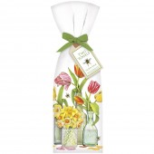 Clear Vases Towel Set