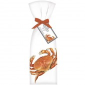 Red Crab Towel Set