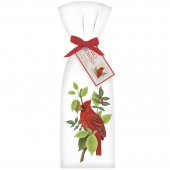 Cardinal In Tree Towel Set