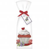 Red Velvet Cupcake Towel Set