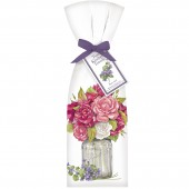Roses In Jar Towel Set