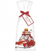 Santa Bug Towel Set