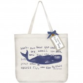 Blue Whale Tote Bag
