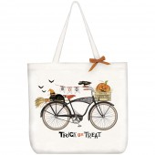 BOO Bike Tote Bag