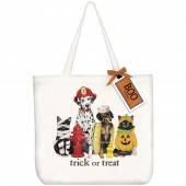 Dogs & Cats Costumes Tote Bag