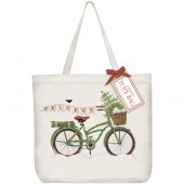 Believe Bike Tote Bag