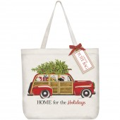 Holiday Stationwagon Tote Bag