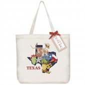 Texas State Collage Tote Bag