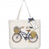 Crab Bike Tote