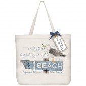Beach Sign Tote
