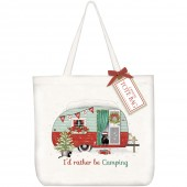 Holiday Camper Tote Bag
