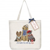 Yorkie Doodle Frenchie Tote Bag