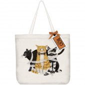 Purrfectly Wicked Cats Tote Bag