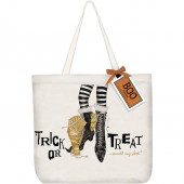 Cat Witches Feet Tote Bag