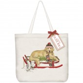Retriever Sled Tote Bag