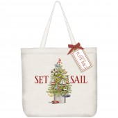Sailboat Tree Tote Bag