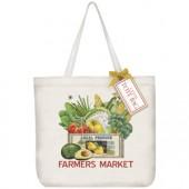 Farmers Market Box Tote Bag