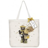 Beekeeper Bear Tote Bag