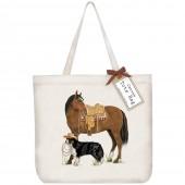 Ranch Horse Tote Bag
