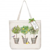 Lemon Tree Bucket Tote Bag