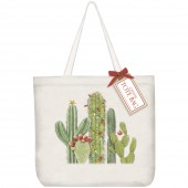 Cactus with Lights Tote Bag