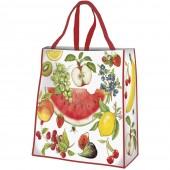 Fruit Medley Plastic Tote Bag