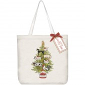 Creature Tree Square Tote Bag