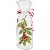 Variegated Holly Wine Bag