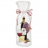 Red Wine Bottle Wine Bag