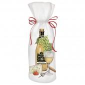 White Wine Bottle Wine Bag