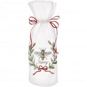 Bee Merry Wine Bag