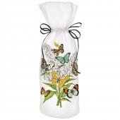 Butterfly Bush Wine Bag