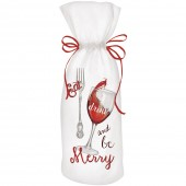 Eat And Drink Wine Bag