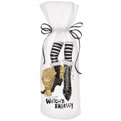 Cat Witches Feet Wine Bag