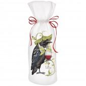 Crow Leaf Hat Wine Bag