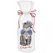 Uncle Sam Cat Wine Bag