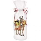 Donkey Wine Basket Wine Bag