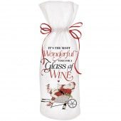 Garden Santa Wine Bag