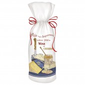 Cheese Plate Wine Bag