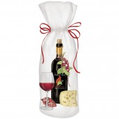 Red Wine Holiday Wine Bag