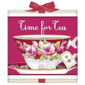 Pink Antique Teacup Tea Box