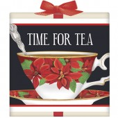 Poinsettia Teacup Tea Box
