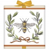 Bee Olive Wreath Tea Box