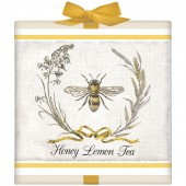 Bee Harvest Wreath Tea Box