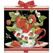 Strawberry Teacup Tea Box