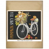 Pumpkin Bike Wrapped Tea